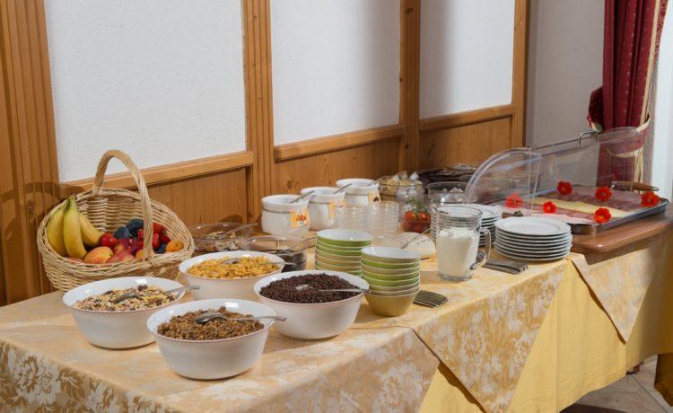 Hotel Mondschein Passeiertal Frühstücksbuffet