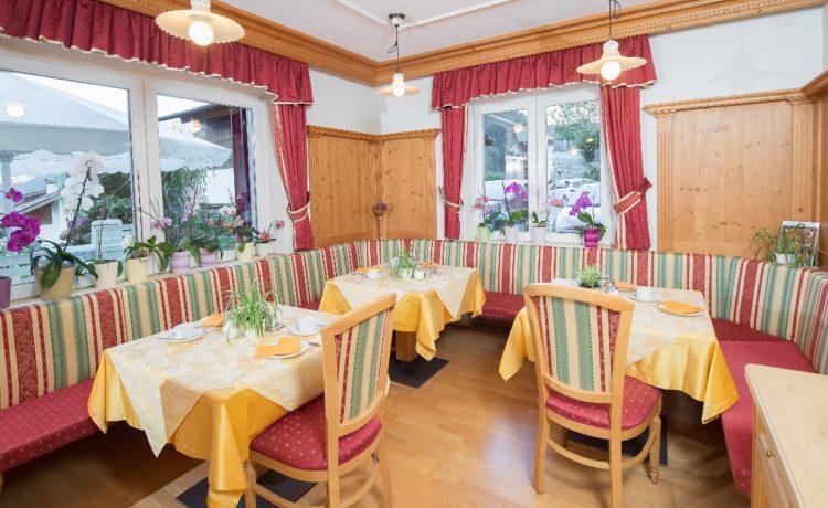 Hotel Mondschein Passeiertal Speisesaal