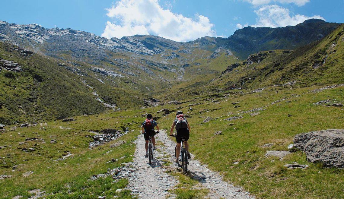 Mountainbike in Passeier