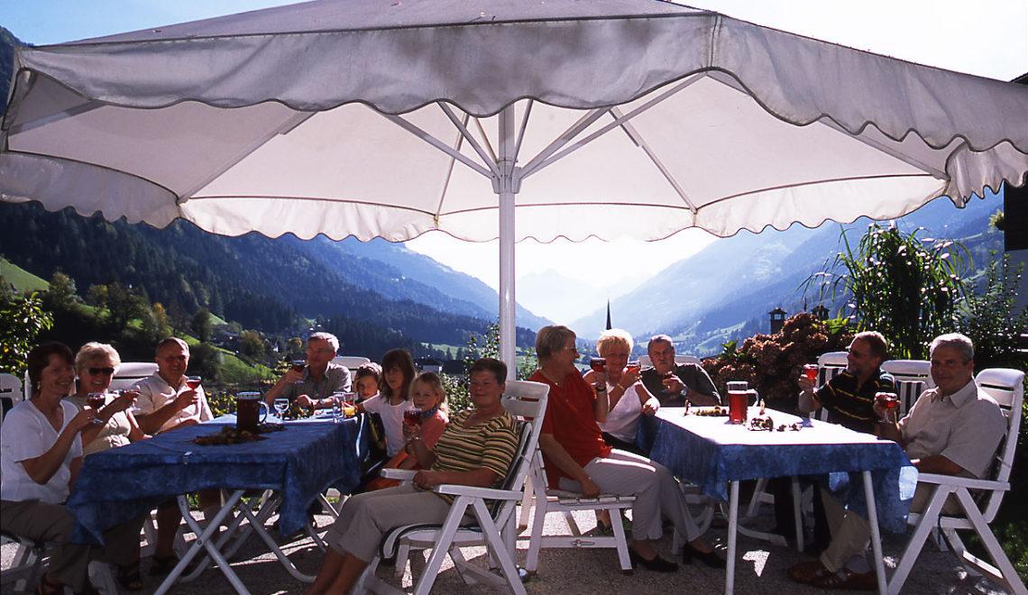 Panoramaterrasse Hotel Mondschein